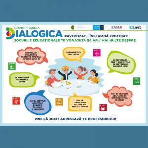 Jocurile educaționale DIALOGICA: abordare inovativă în procesul de educație non-formală a elevilor din municipiul Chișinău